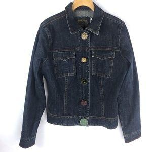 CAbi Multi style buttons Denim Jean Jacket